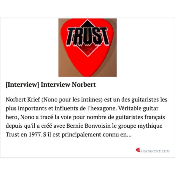 Guitariste.com Trust